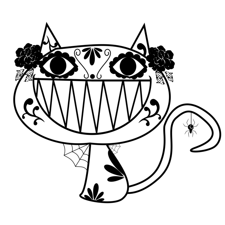 vector free library Cat Drawing Visual arts Line art Kleurplaat free commercial clipart