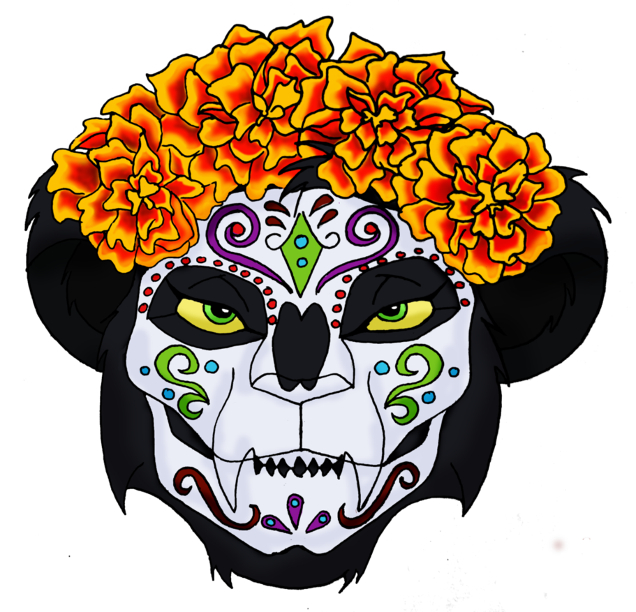 png stock Lian as Catrina by LillyDiaz