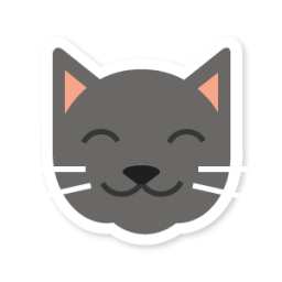 clip royalty free Cats clipart icon. Cat swarm app sticker.