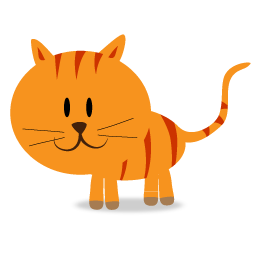 clipart free library Happy kitty cat png. Cats clipart icon.
