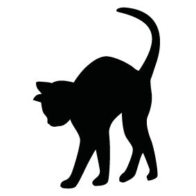 clip transparent stock Cat pencil and in. Cats clipart shape.