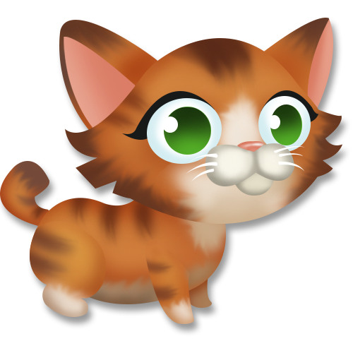 clip freeuse stock Kitten hay day wiki. Cats clipart tabby.