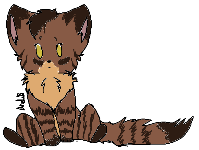 picture transparent stock Cats clipart tabby. Fluffy brown cat by.