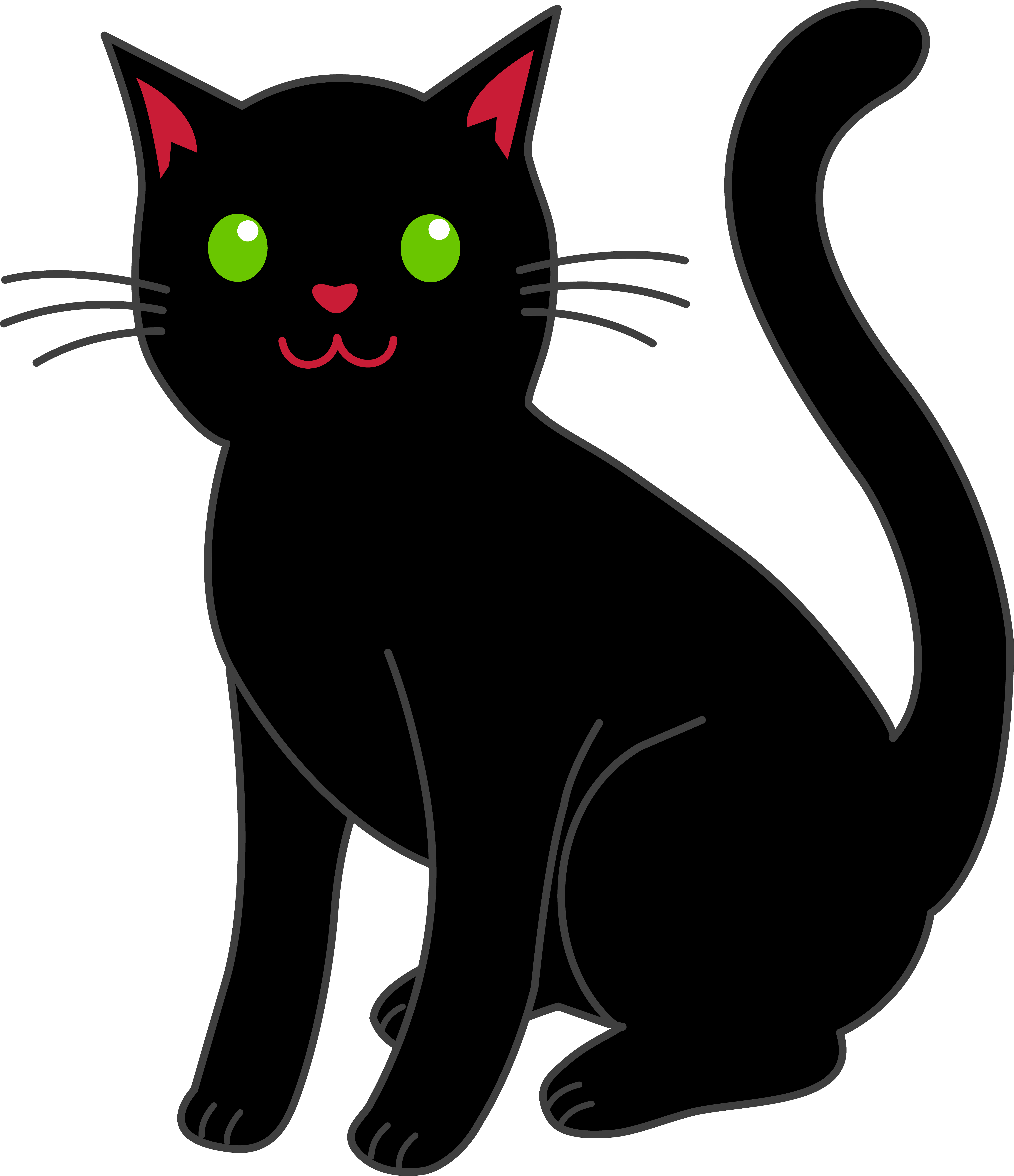 png download Cats clipart tongue. Cat simple black halloween.