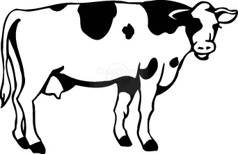 vector download Free cow images download. Cattle clipart.