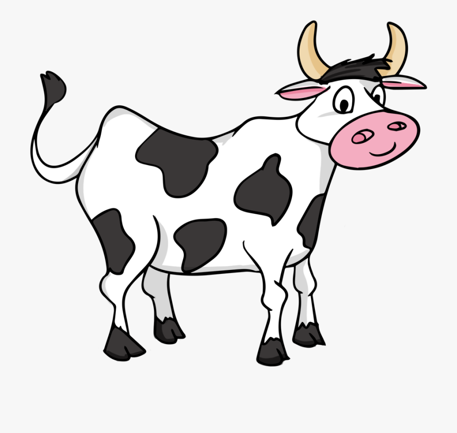 banner royalty free Cow clipart. Clip art black and