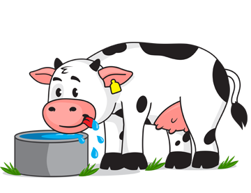 svg free library Cattle clipart animal diet. Freedom from hunger thirst.