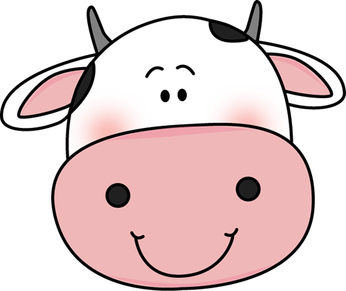 vector black and white stock Cow face clipart black and white. Cute png transparent images