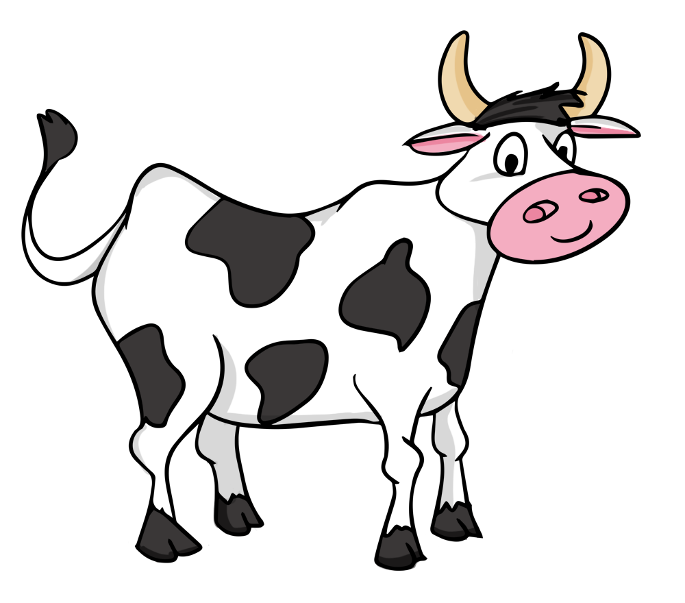 image black and white library Play vocabulary by candace. Cattle clipart farm animal.
