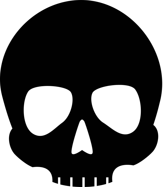 png free library File skull icon noun. Bones vector svg