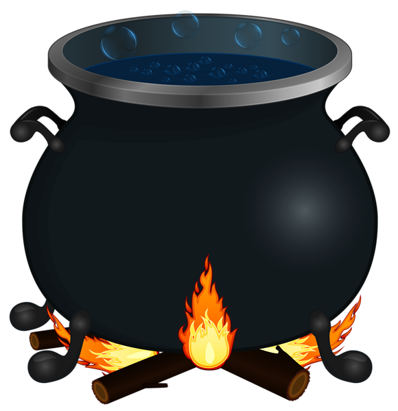 vector royalty free Halloween png image pinterest. Cauldron clipart