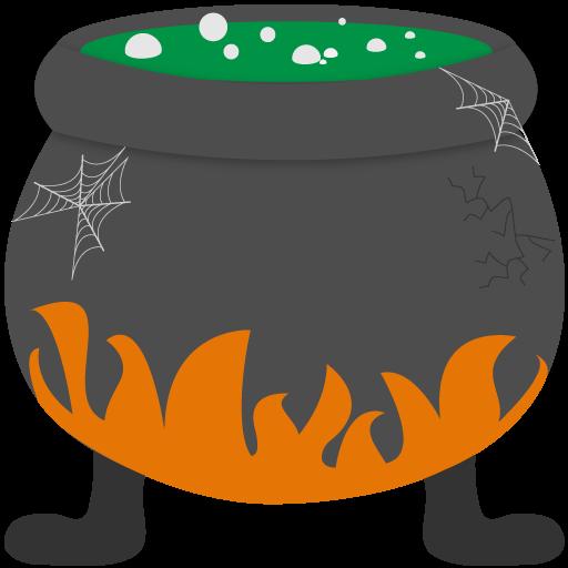 jpg Panda free images halloween. Cauldron clipart.