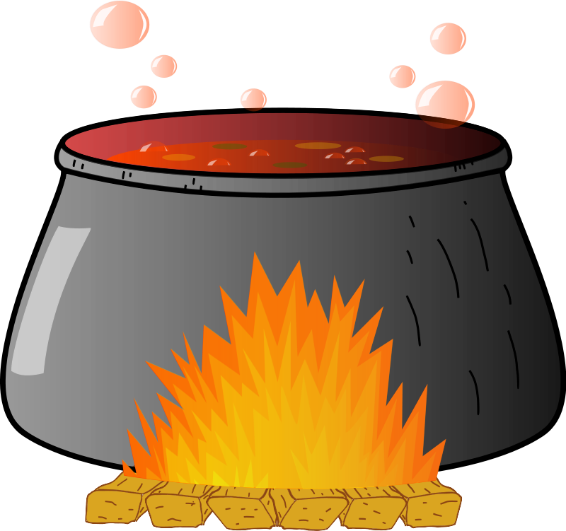 svg Free witches page of. Cauldron clipart brew.