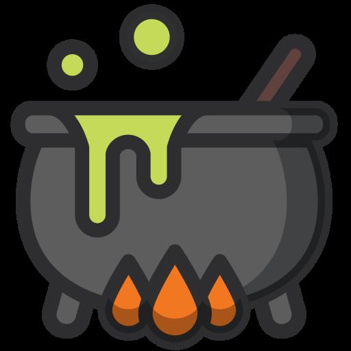 clipart stock Pot poison halloween magic. Cauldron clipart potion.