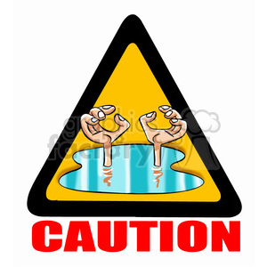svg download Caution clipart. Sign flooding royalty free.