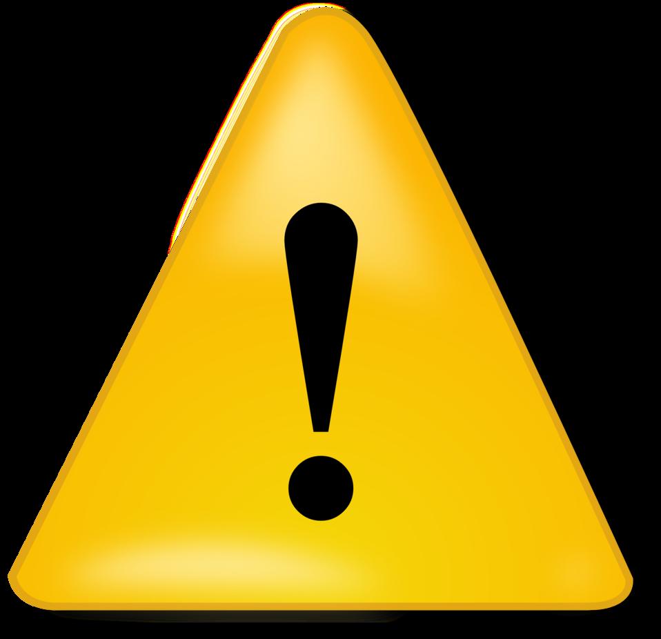 image royalty free stock Public domain clip art. Caution clipart
