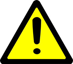 png freeuse download Caution clipart. Warning sign clip art.