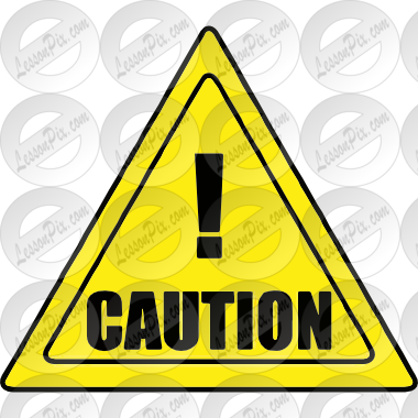 svg royalty free stock Caution clipart. Picture for classroom therapy.