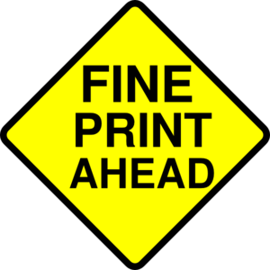 image royalty free stock Fine print clip art. Caution clipart ahead.