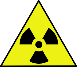 png royalty free stock Nuclear Zone Warning Sign Clip Art at Clker