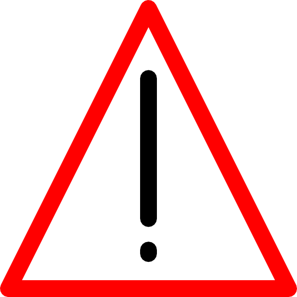 banner royalty free Caution clipart warning light. Sign clip art at
