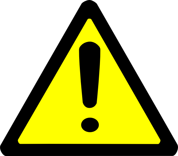 banner royalty free Caution clipart warning light. Sign clip art at.
