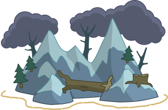 banner library Cave clipart survival shelter. Island guide poptropica help.