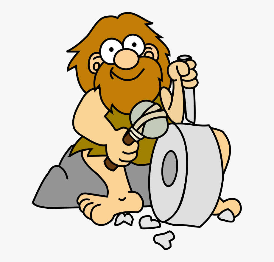 clipart download Of american flag cavemen. Caveman clipart.