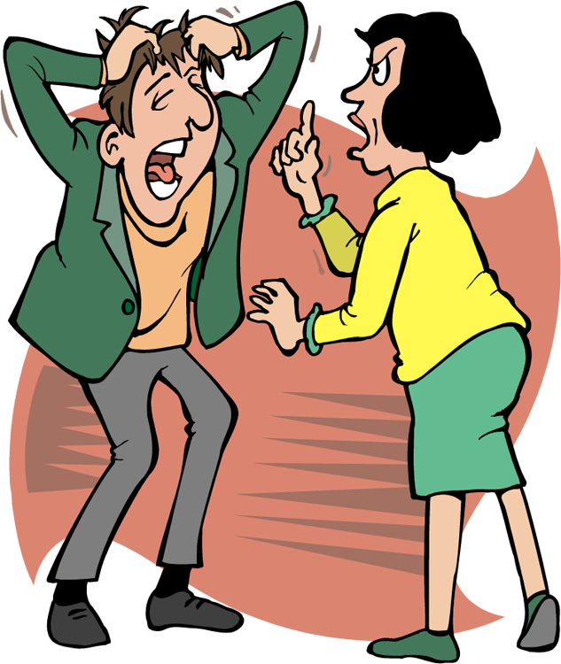 jpg royalty free library Arguing Clipart Group