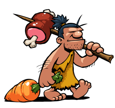 png free library The paleo diet on. Caveman clipart female.