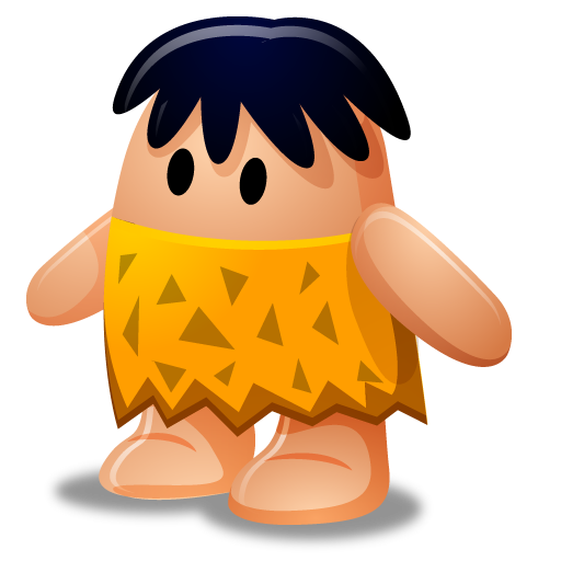 jpg library download Cartoon icon png ico. Caveman clipart rock.