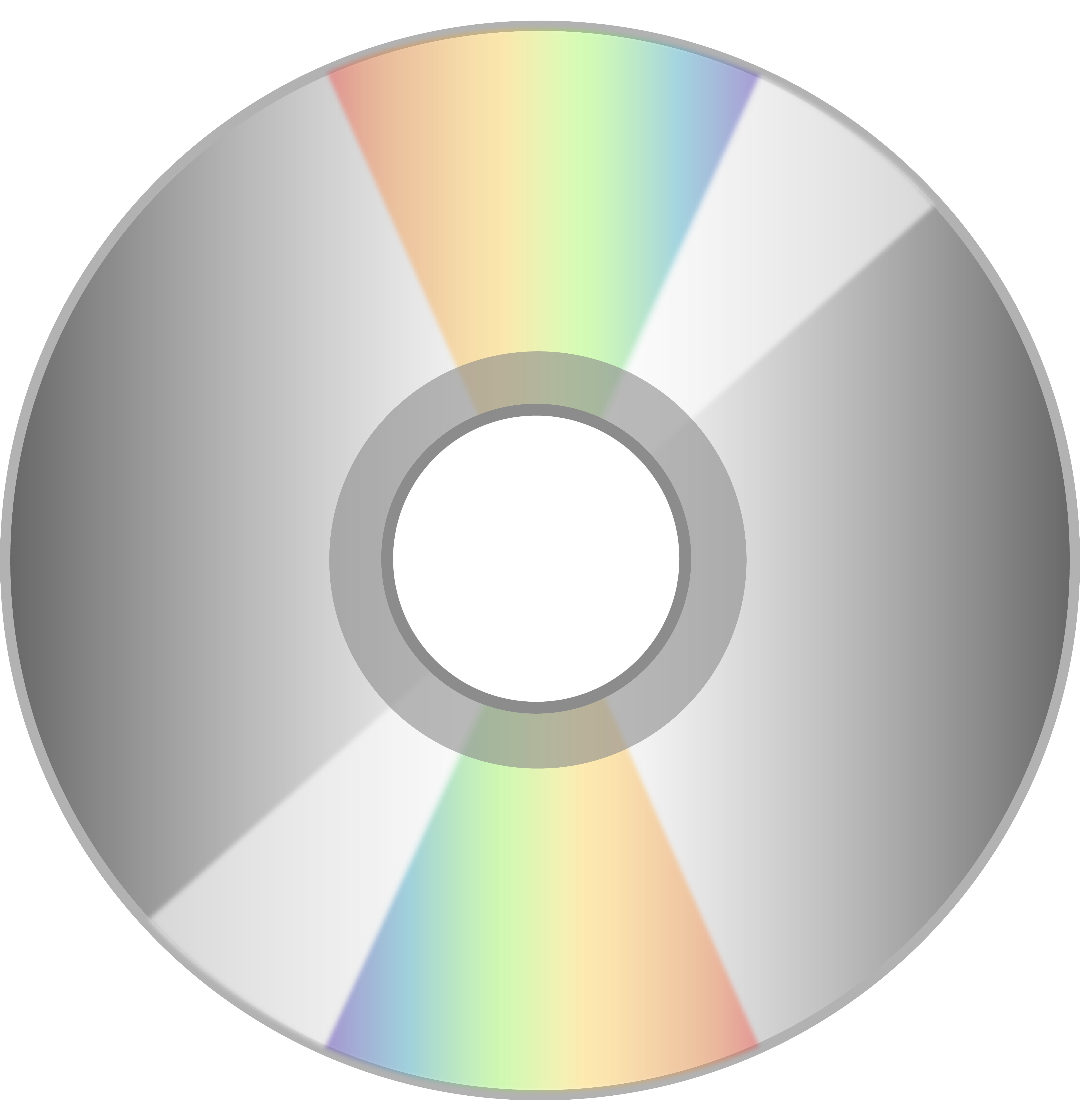 picture transparent Shiny Compact Disc