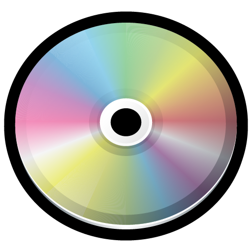banner freeuse library Glossy CD Icon