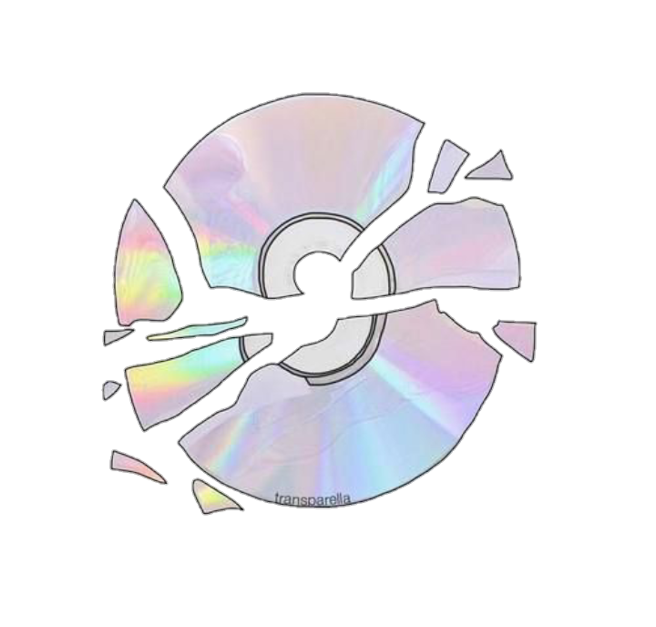 vector free library cd tumblr png colour broken cute pastel computer