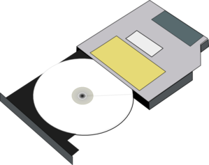 black and white cd vector rom #110440753