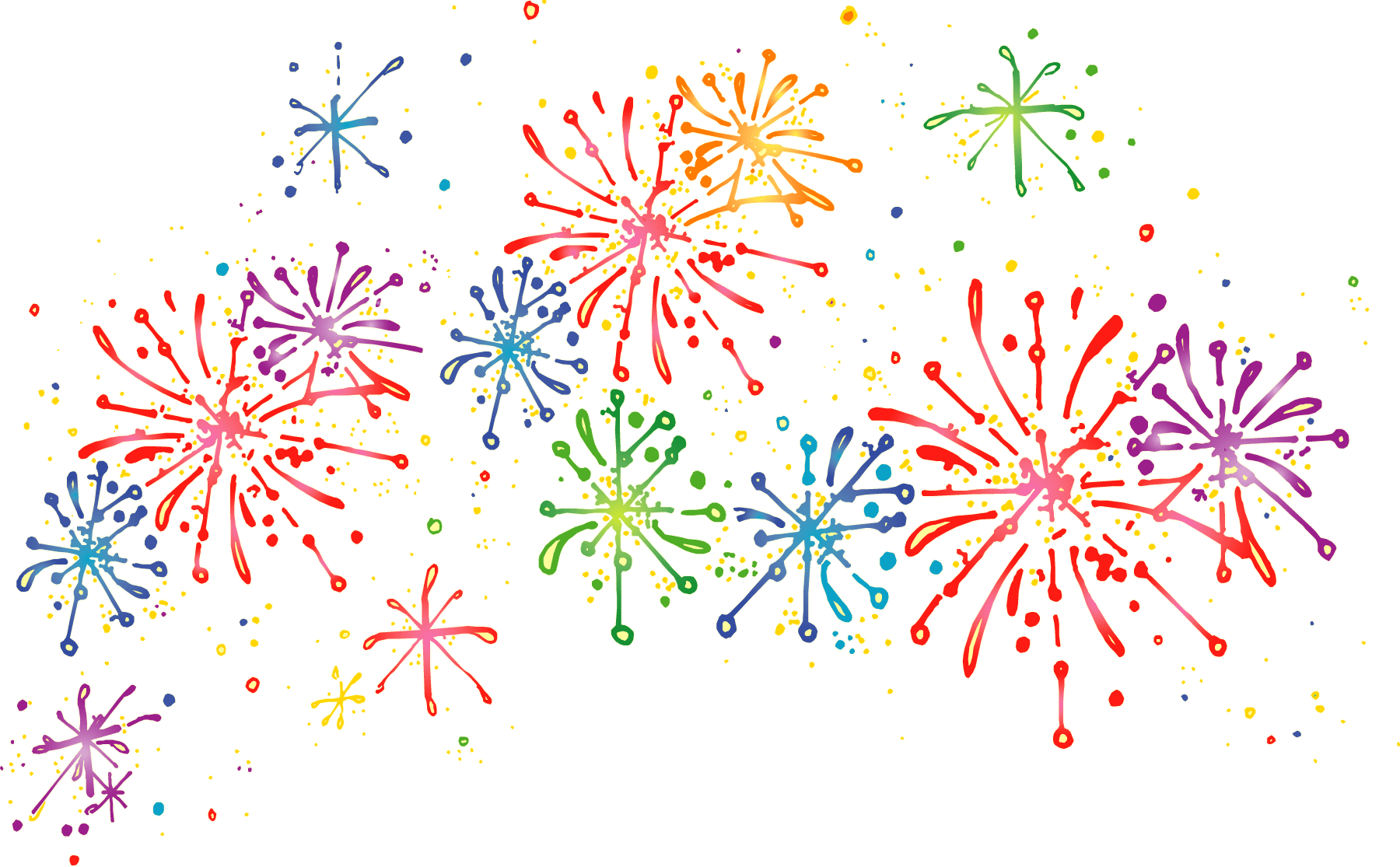 clip art freeuse  collection of celebrate. Fireworks clipart