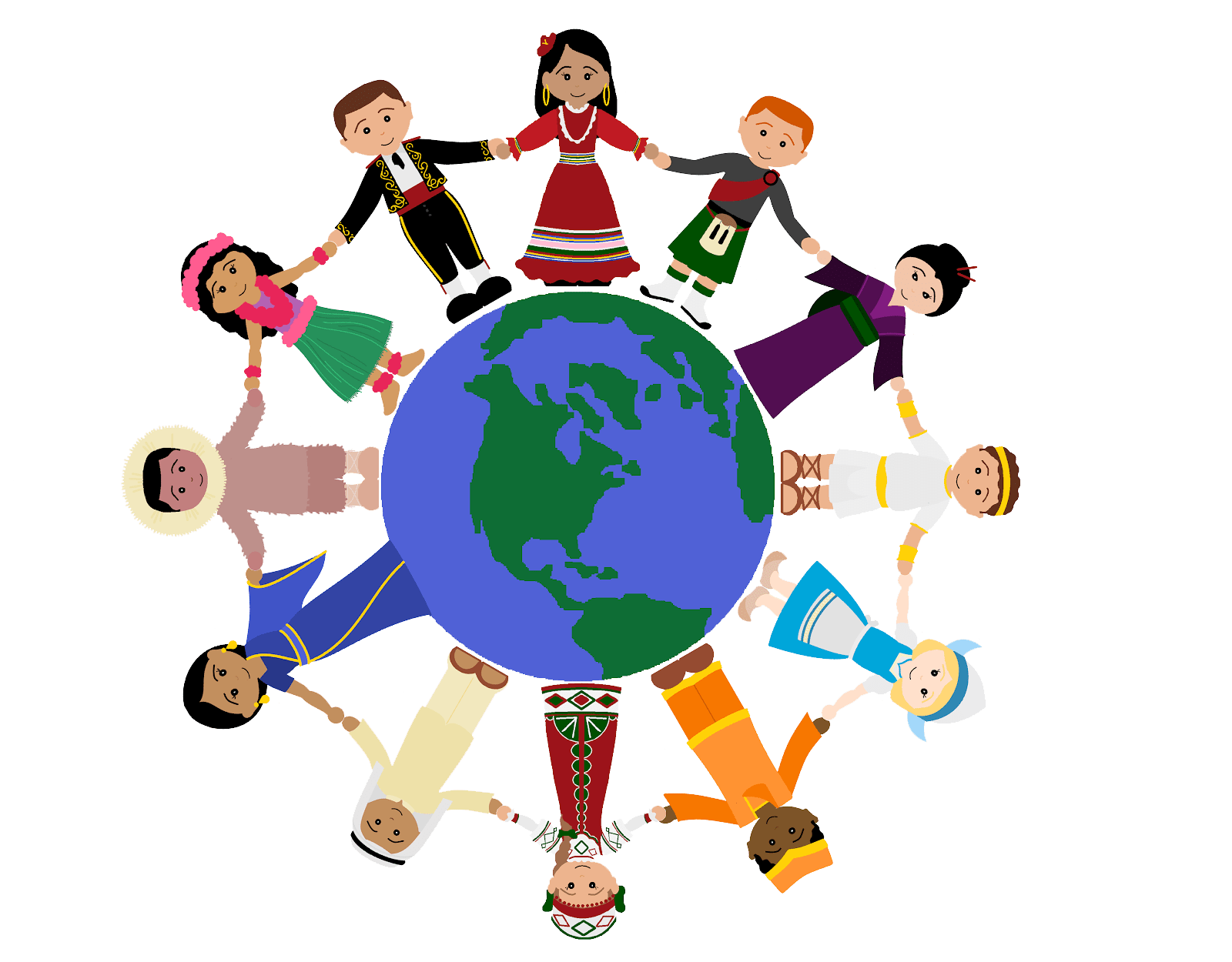 graphic black and white library Celebrate clipart cultural celebration. Passport around the world.