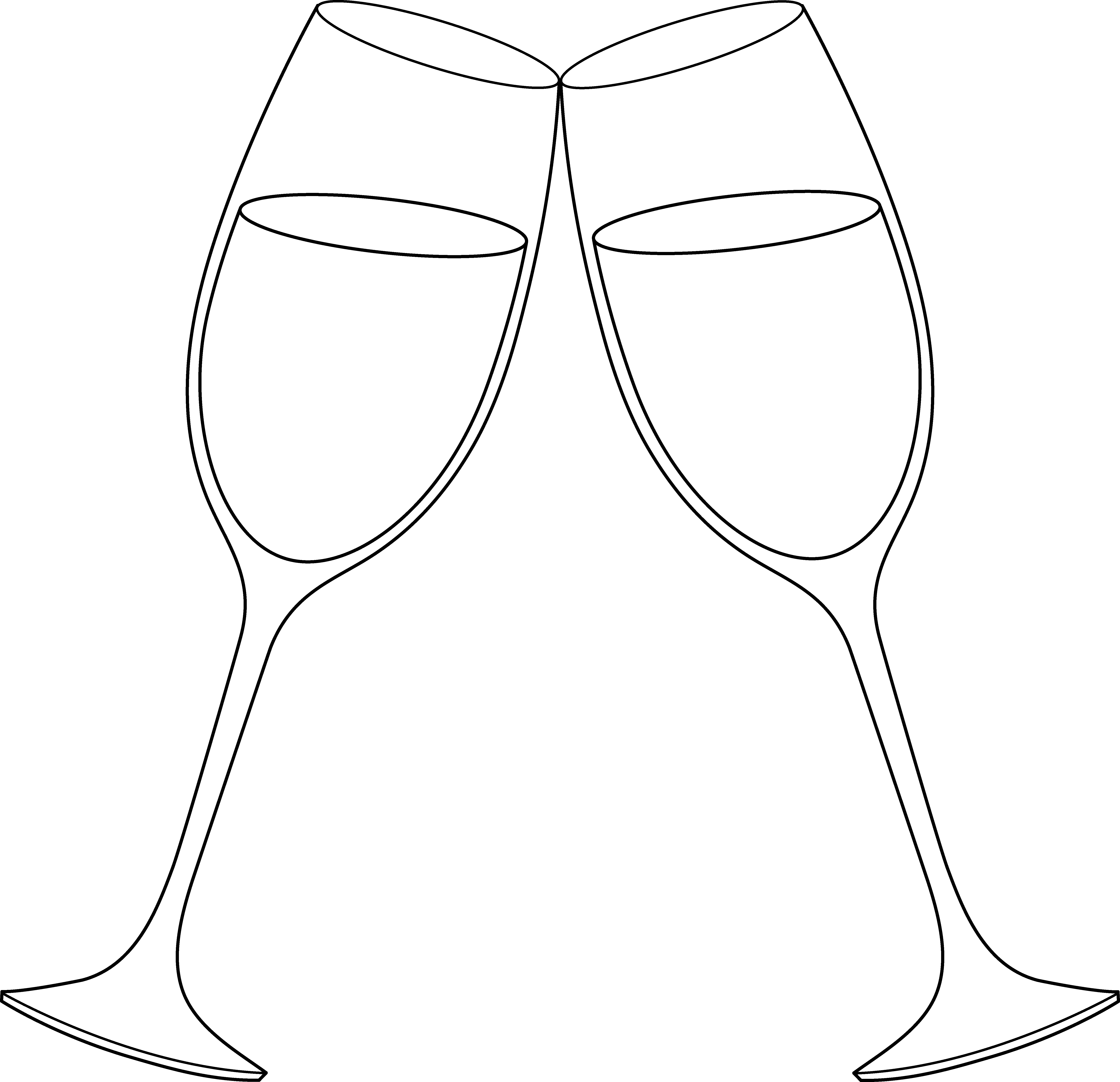 clip art free download Wine Glass Cheers Clipart