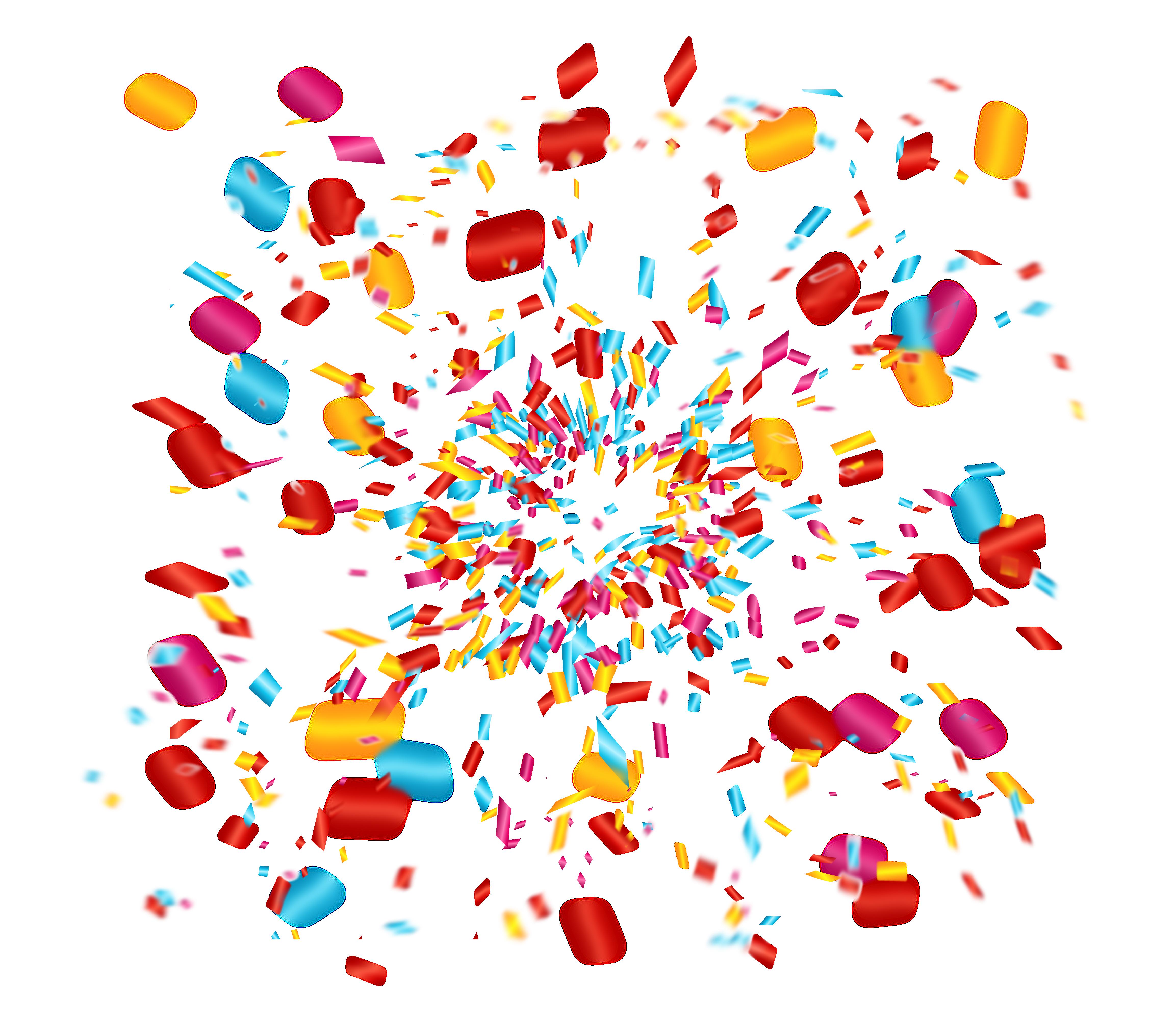 jpg free stock Confetti clip art celebrate. Party transparent celebration
