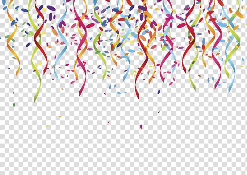 graphic transparent download Party transparent celebration. Multicolored banderitas serpentine streamer