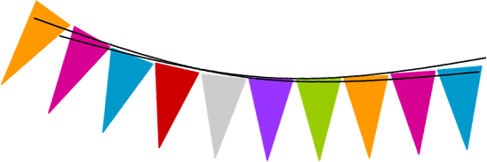 clip royalty free stock Birthday Flag PNG Transparent Birthday Flag