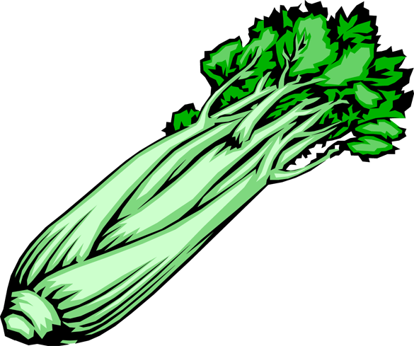 svg free library Clipart . Celery drawing