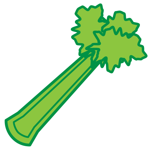 clipart free library Cartoon clipart . Celery drawing