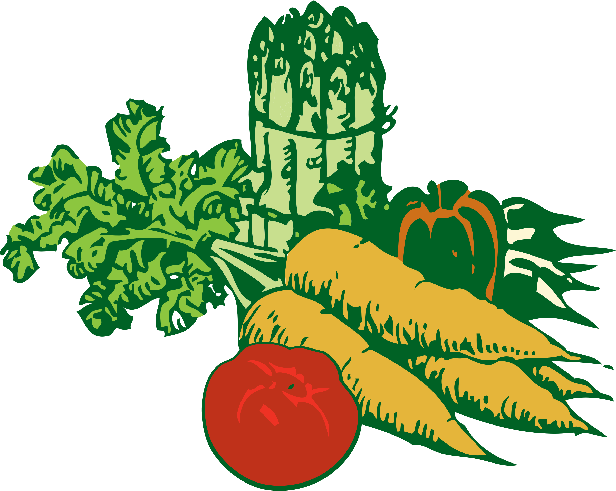 graphic free library Vegetables Clipart farmers market