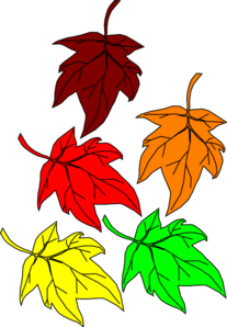 jpg library download Falling leaves clip art. Celery clipart watercolor.