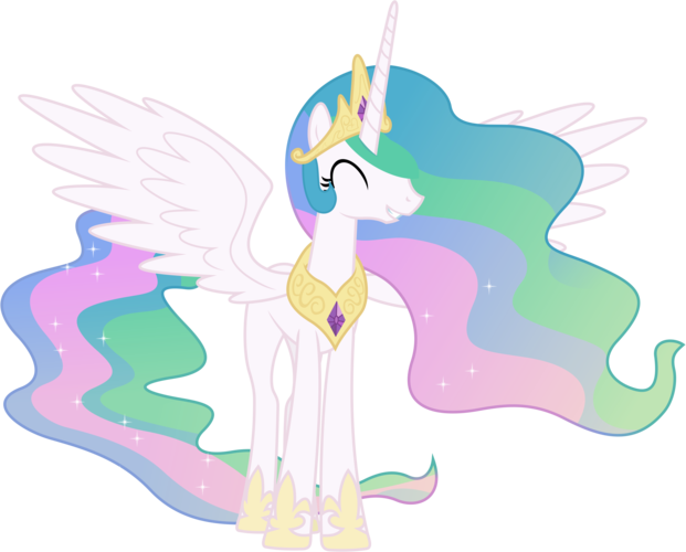 banner freeuse library Princess Celestia