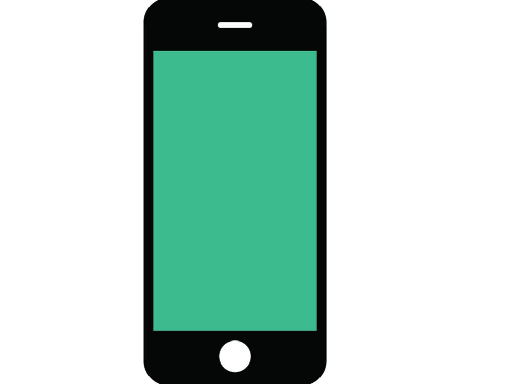 royalty free download Cell Phone Vector Icon