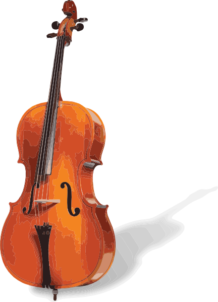 clip art freeuse stock Cello clipart. Clip art at clker