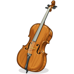 clipart free library Pin by rebecca montieth. Cello clipart chinese american.