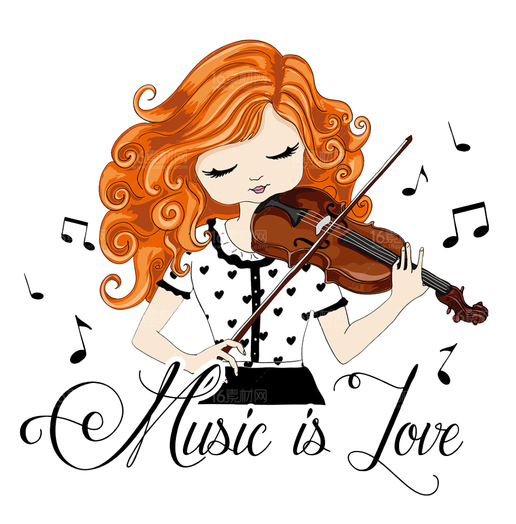 vector transparent download Violin drawing illustration girl. Cello clipart chinese american.